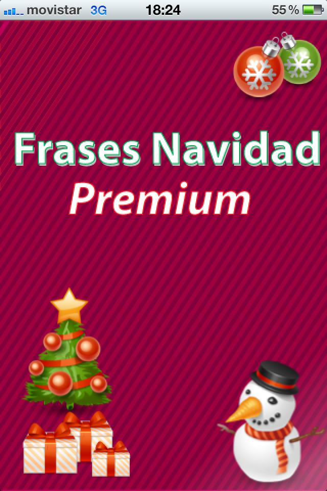 Frases navidad premium - Mensajes para felicitar la navidad ...