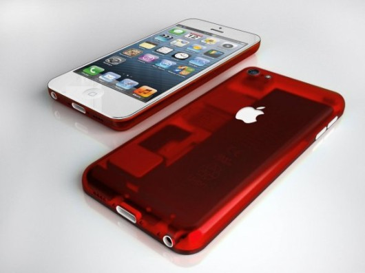 iPhone Low-Cost Concept Red