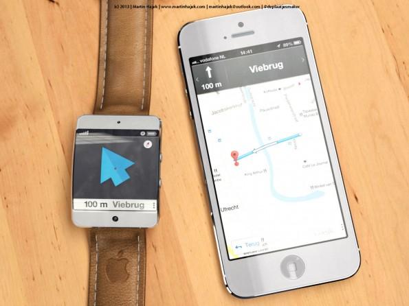 iWatch concept Maps - Martin Hajek - 1