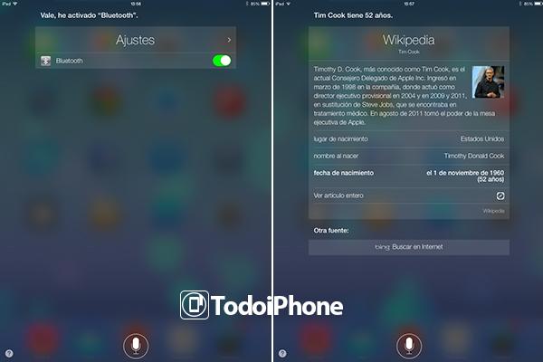 Siri iOS 7 Beta 2 iPad - 2