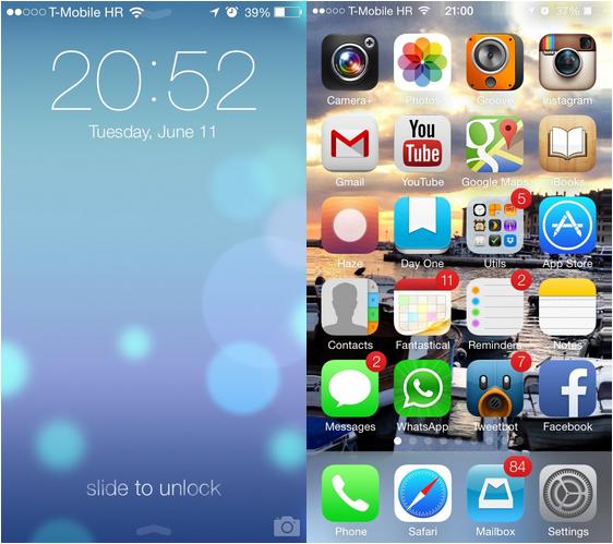 iOS 7 Wallpapers Dinamicos y panoramicos - 1
