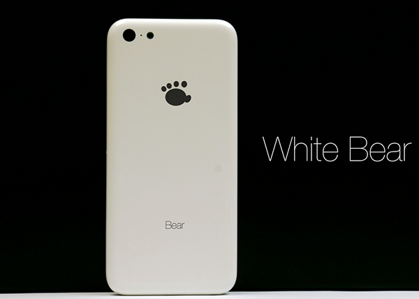 White Bear - iPhone Low-Cost Clon 1