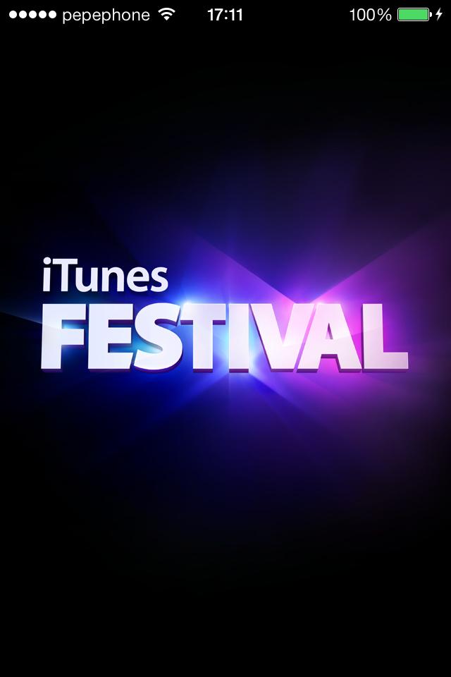 iTunes Festival 4.0 - 1