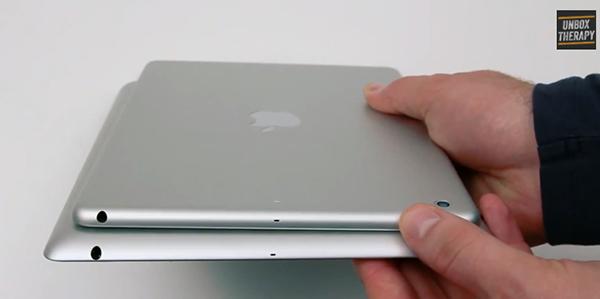 Enfrentan el iPad 5 y el iPad 4 en Un Nuevo vídeo