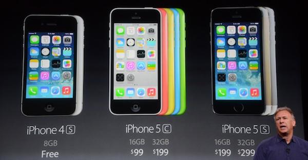 Presentacion Precios - iPhone 4S - iPhone 5C - iPhone 5S