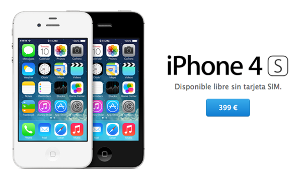 iPhone 4S Disponible App Store
