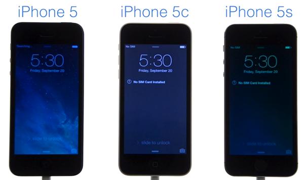 iPhone 5 vs iPhone 5c vs iPhone 5s - test velocidad arranque