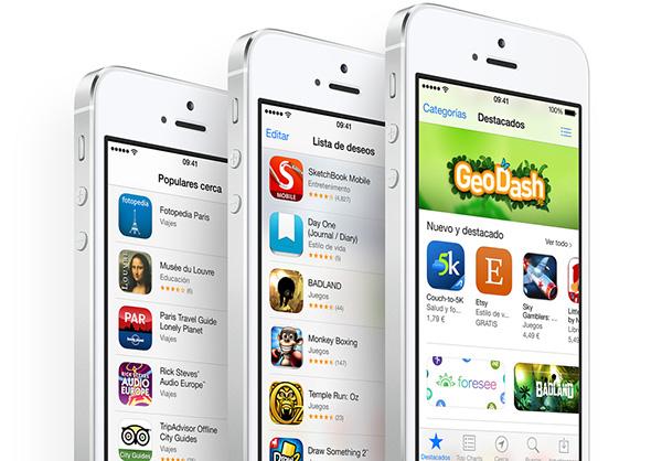 iPhone 5s App Store