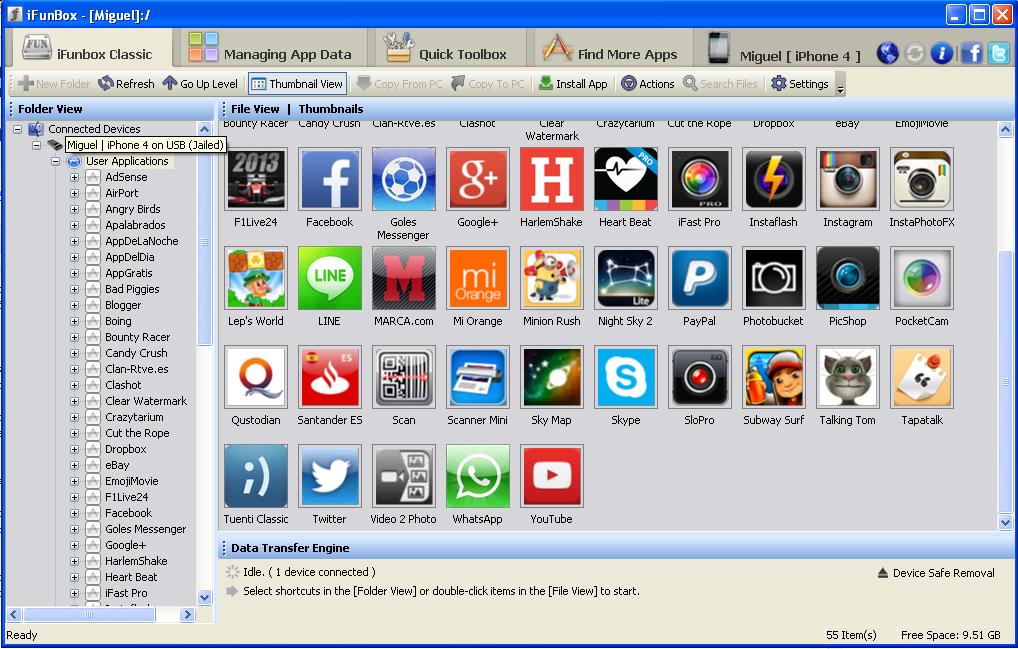 ifunbox - screenshot 2