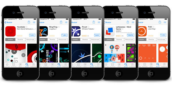 5 Juegos Minimalistas iPhone iPad
