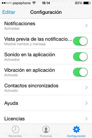 Facebook Messenger - Configuracion