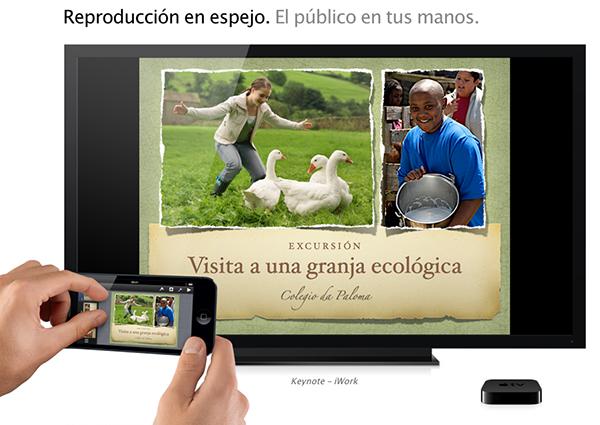 Guia AirPlay - Reproduccion en Espejo
