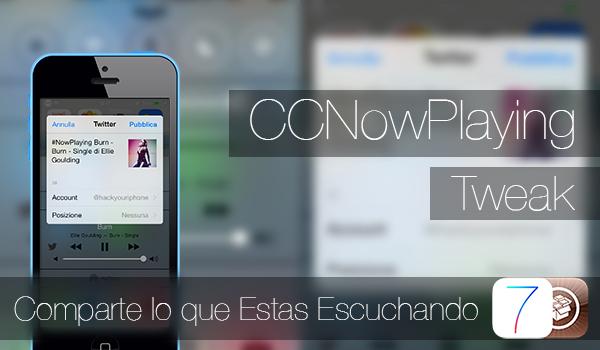 CCNowPlaying-Tweak
