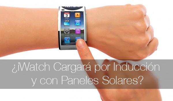 iWatch Carga Induccion Panel Solar