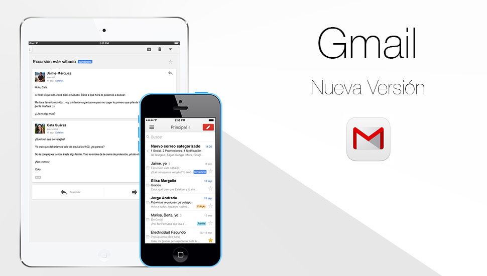 Gmail - Nueva Version
