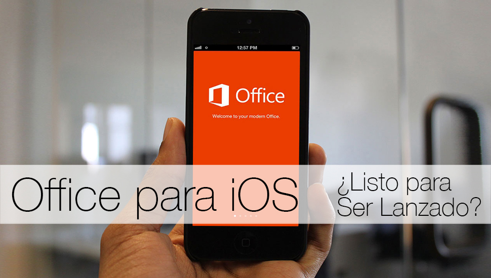 Office iOS iPhone iPad