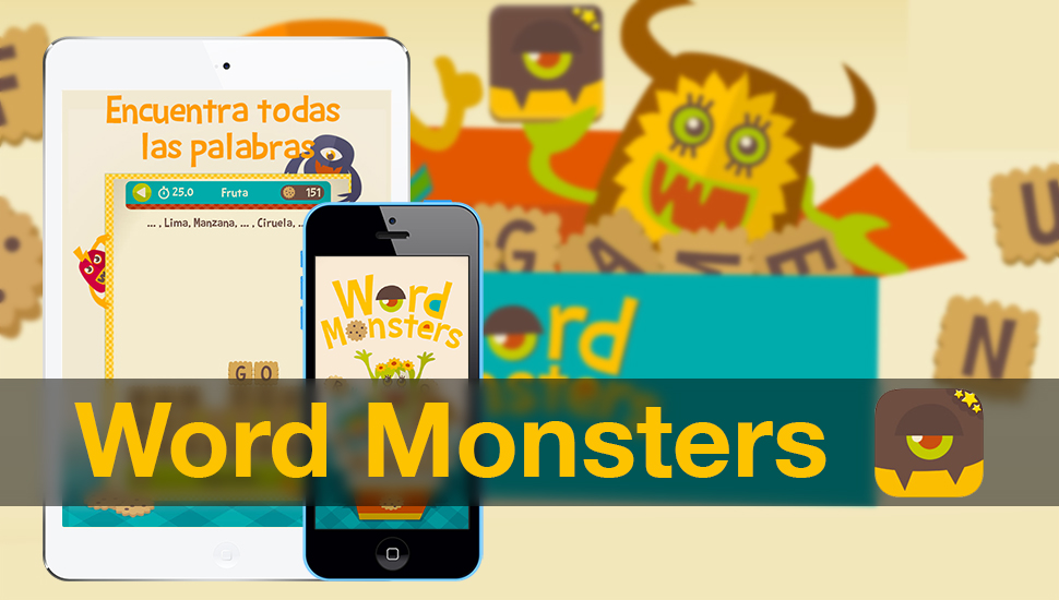 Word Monsters iPhone iPad