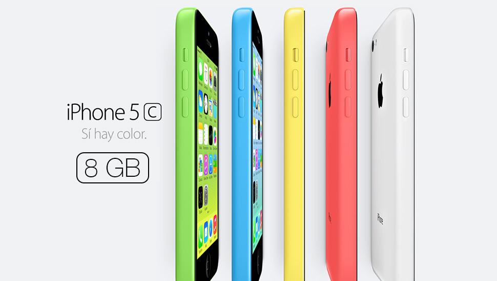 iPhone 5c 8GB Disponible