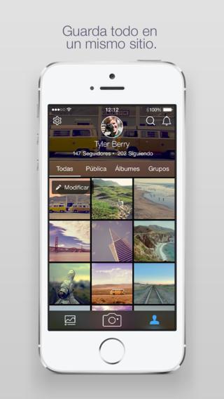 Flickr 3 - screenshot 2