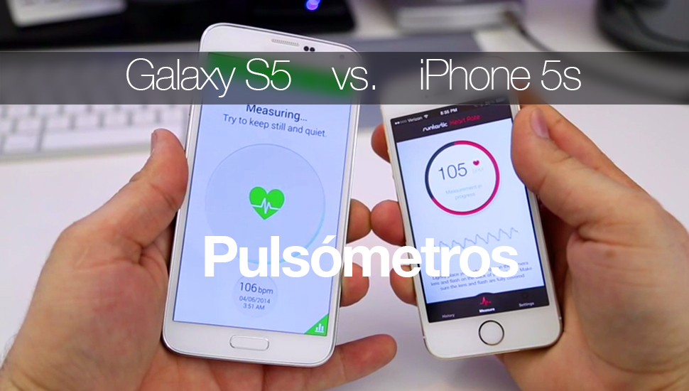 Galaxy S5 iPhone 5s - Pulsometros
