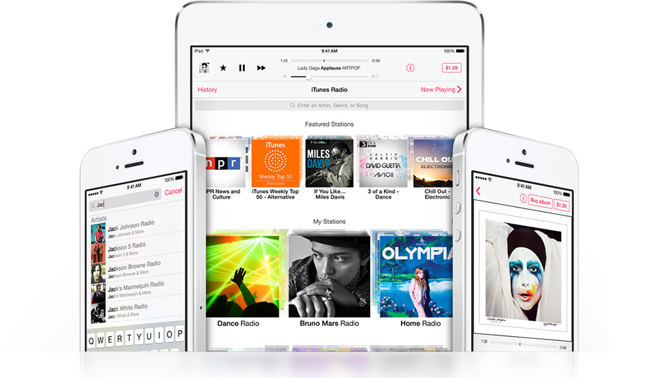 iTunes Radio iPhone iPad