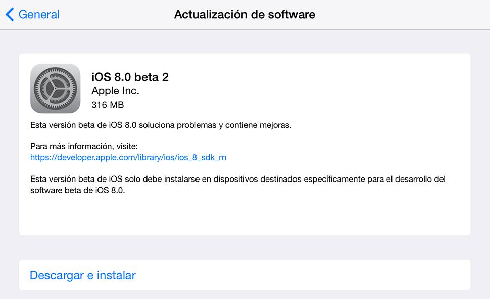 iOS-8-Beta-2-Actualizacion
