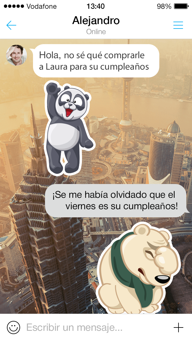 myChat-stickers