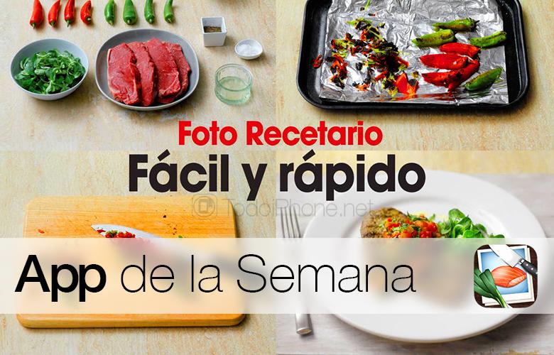 Foto recetario f cil y r pido app de la semana en itunes - Cocinar facil y rapido ...