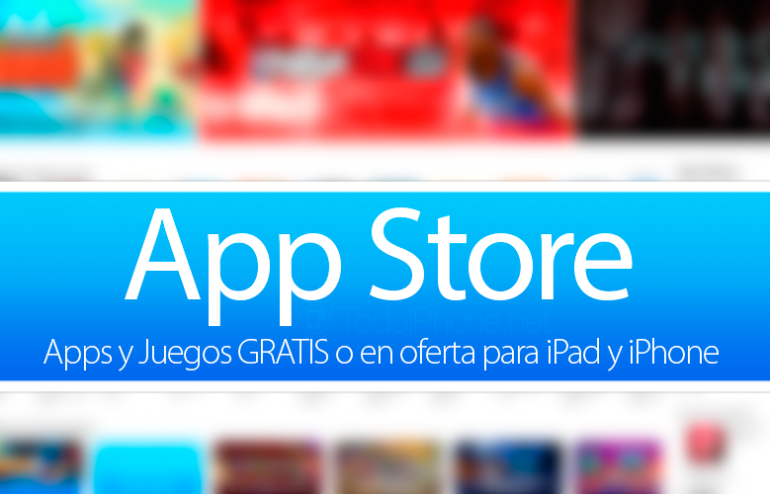 Apps-Juegos-GRATIS-oferta-iPad-iPhone