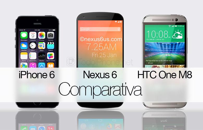 iphone-6-nexus-6-htc-one-m8-comparativa