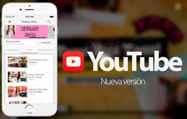 youtube-nueva-version-iphone-musica