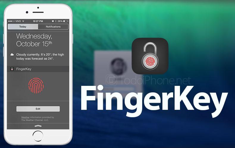 FingerKey-iPhone-Mac-app