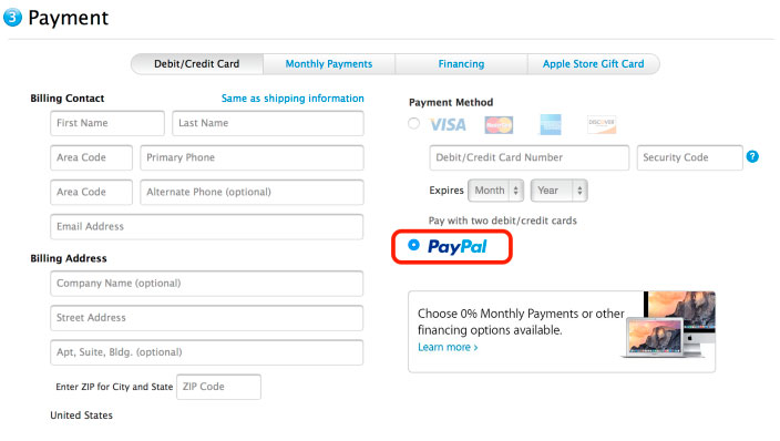 PayPal-Apple-App-Store-Pagar