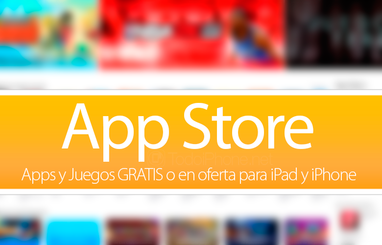 Apps y Juegos GRATIS o en oferta para iPhone y iPad (27/03/15)