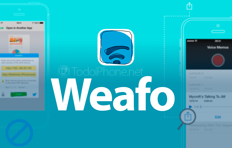 weafo-extension-transferir-archivos-iphone-facilmente