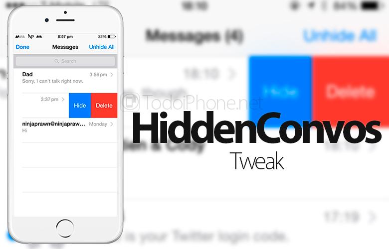 esconder-conversaciones-imessages-hiddenconvos-tweak-iphone
