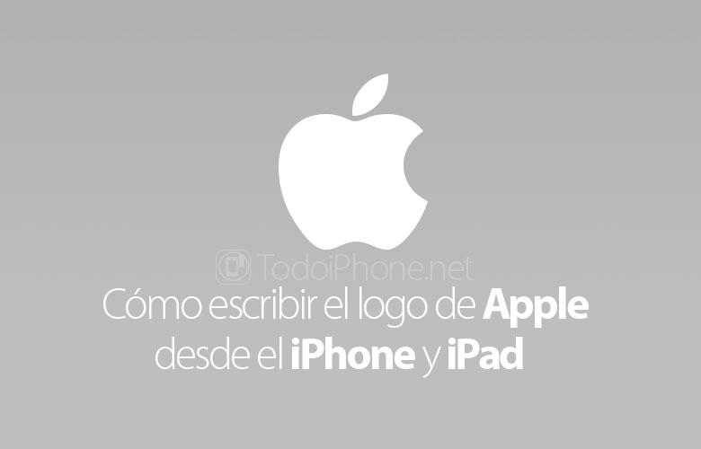 como-escribir-logo-apple-iphone-ipad-mac