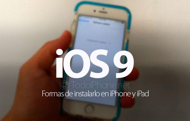 formas-instalar-ios-9-iphone-ipad