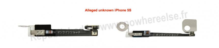 Componentes cámara iPhone 5S - 2