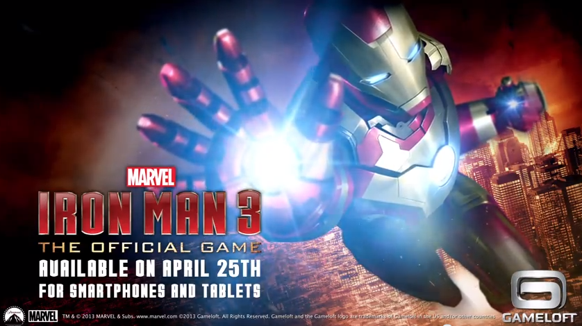 Iron Man 3 The Official Game - Trailer
