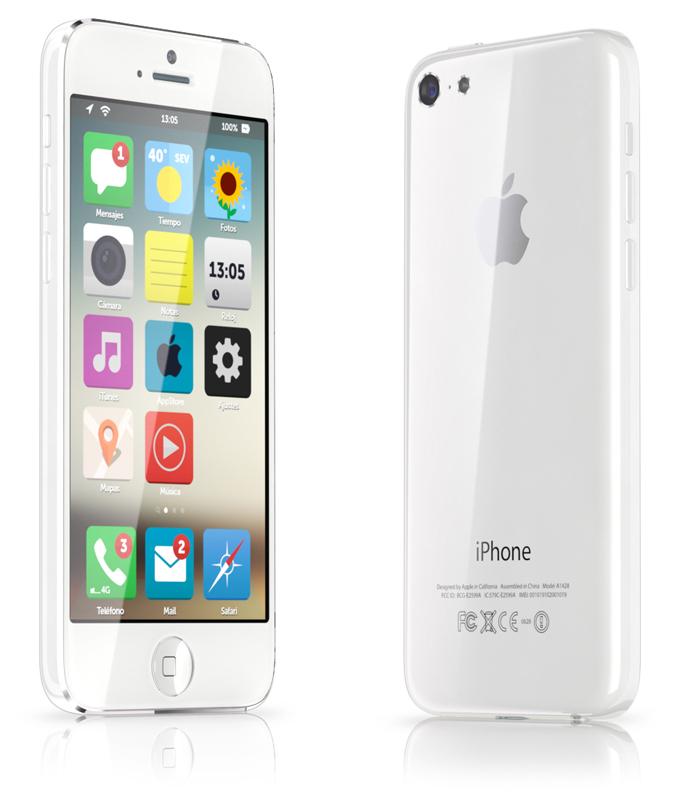 Otro Concepto Minimalista del iPhone Low Cost con iOS 7 - 3
