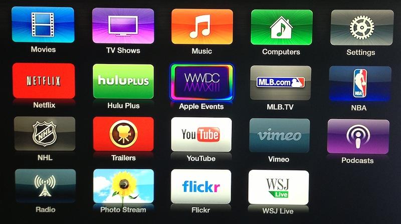 WWDC 2013 Channel Apple TV