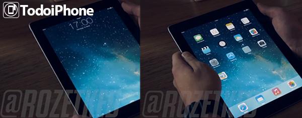 iOS 7 Beta 1 iPad
