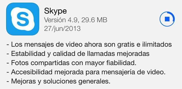 skype ios