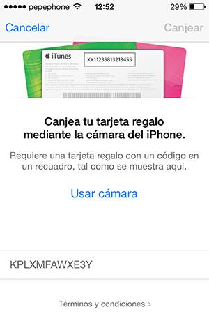 Como Canjear Promo Condes iTunes - 7