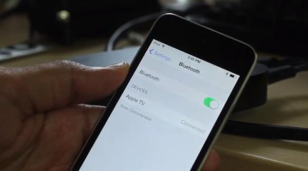 Configurar-Apple TV Dispositivos iOS