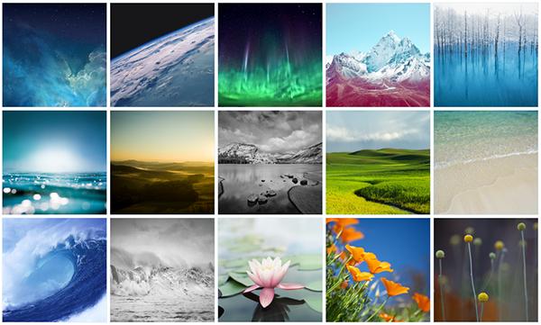 iOS 7 Wallpapers iPad