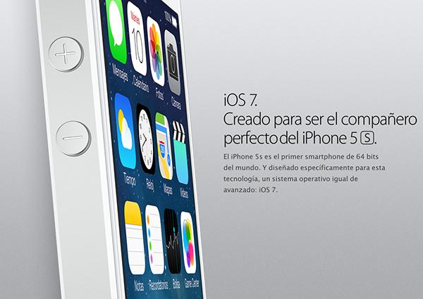 iPhone 5S Oficial - iOS 7