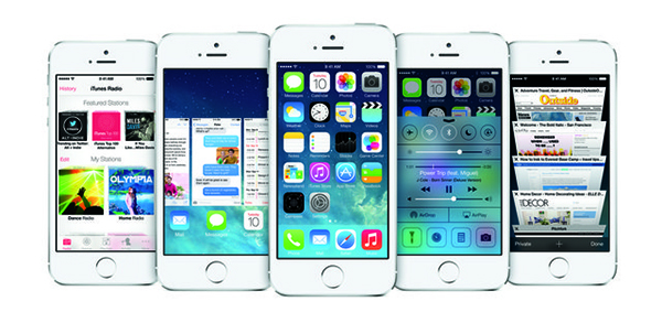 iPhone 5S - iOS 7
