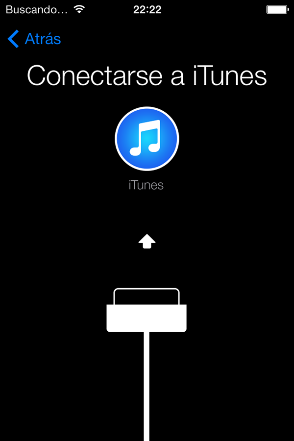 Conectarse a iTunes - Actualizacion Firmware